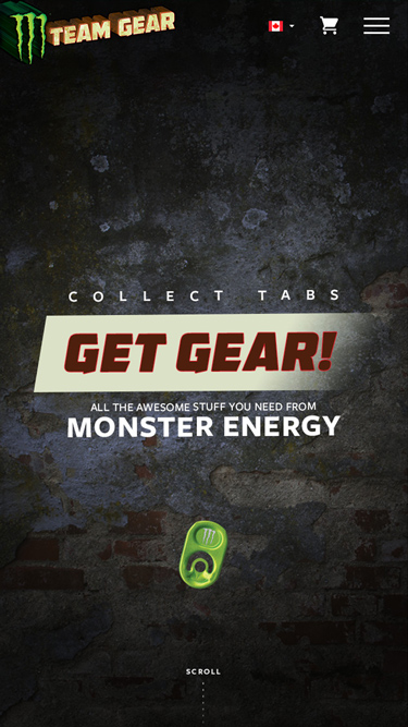 Monster Energy Gear, Ekko Media web design, video production and marketing