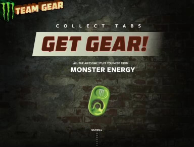 Monster Energy Gear