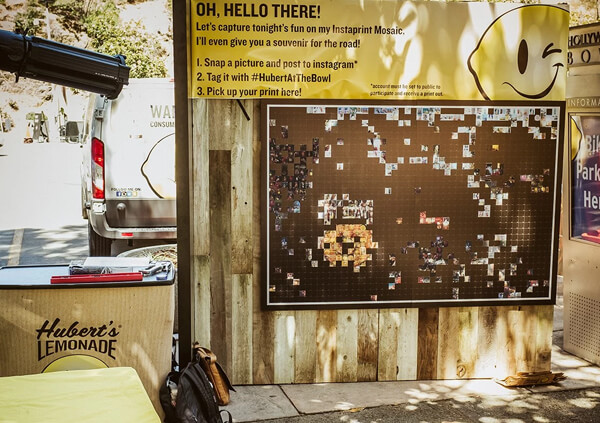 Hubert's Lemonade Social Mosaic, Ekko Media web design, video production and marketing
