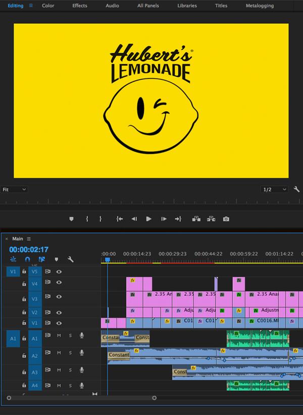 Hubert's Lemonade Social Mosaic, Ekko Media web design, video production and marketingEkko Media web design, video production and marketing