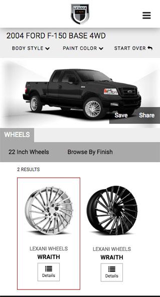 Lexani Wheels Interactive website, Ekko Media web design, video production and marketing