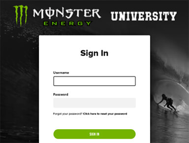 Monster Energy University