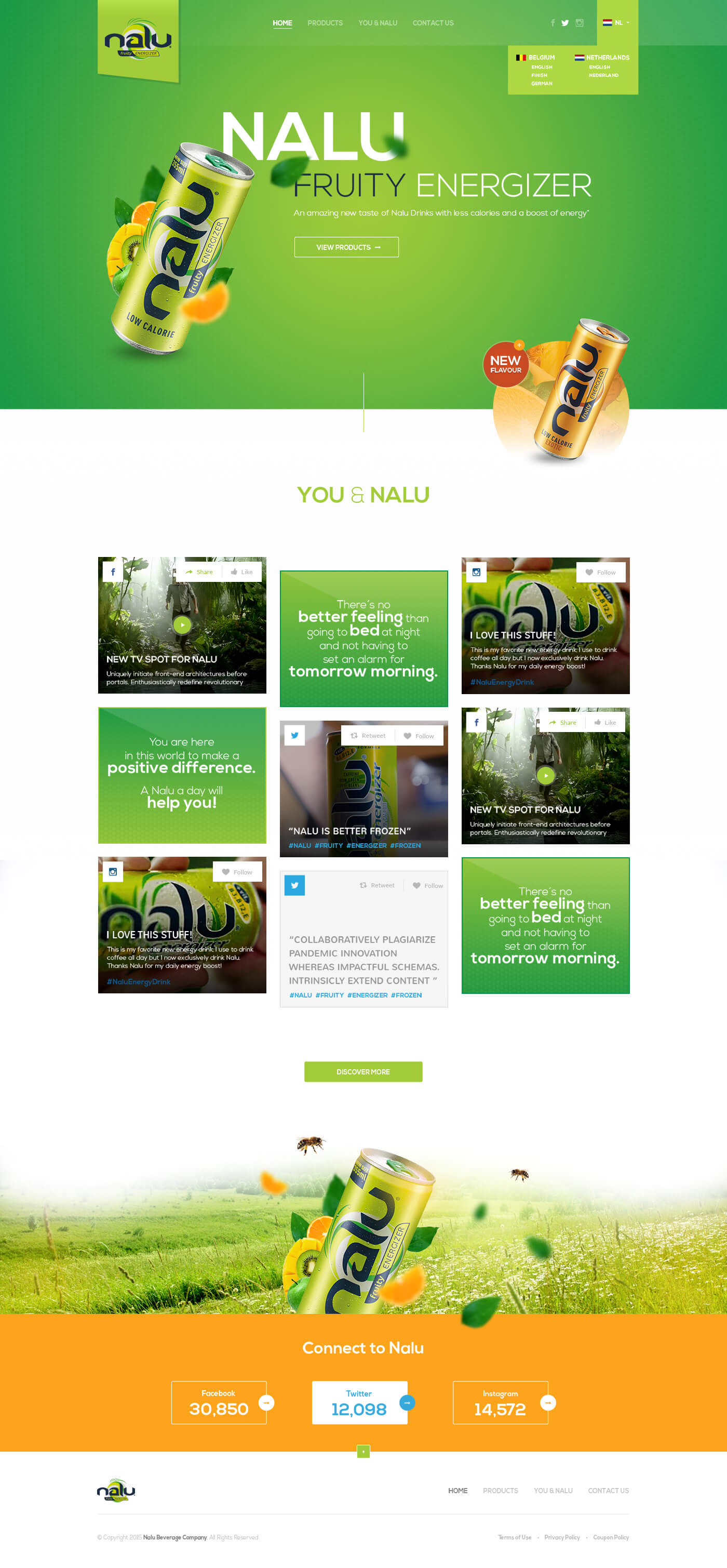 Nalu Energy, Ekko Media web design, video production and marketing