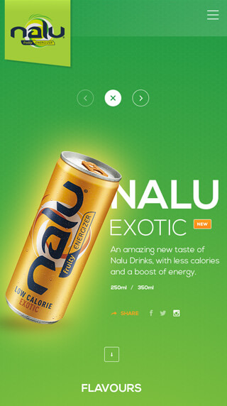 Nalu Energy, Nalu energy mobile site, Ekko Media web design, video production and marketing