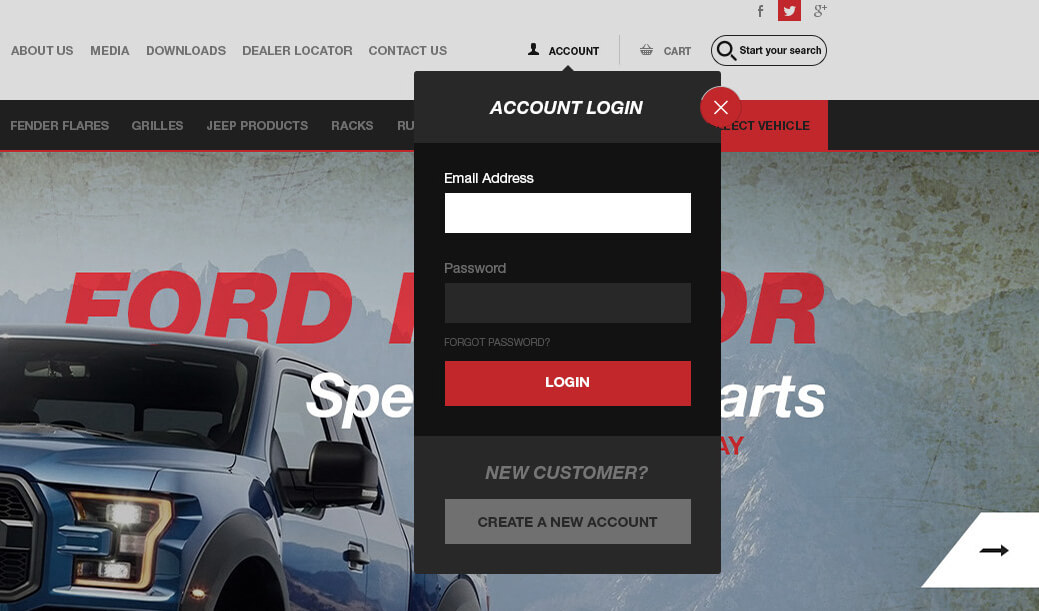 Paramount Automotive Dealer login, Ekko Media web design, video production and marketing